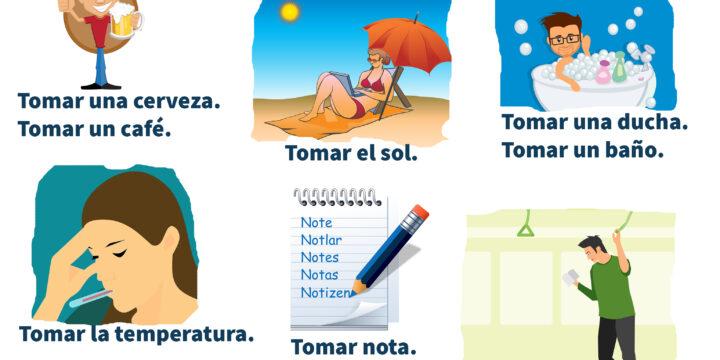 Usos del verbo TOMAR